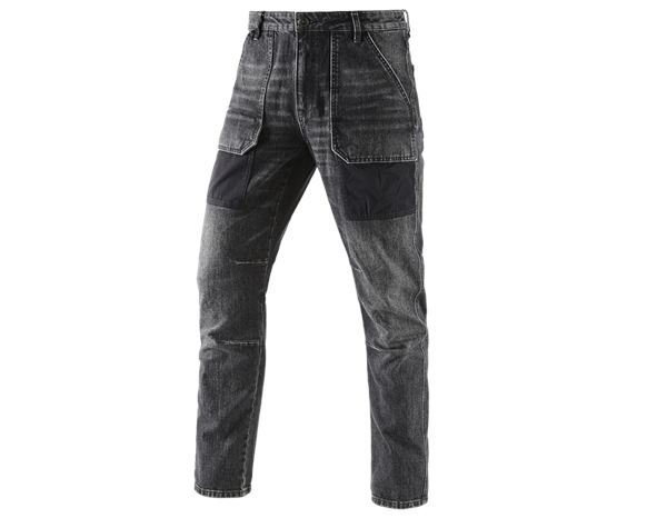 Džíny	: e.s. Džíny se 7 kapsami POWERdenim + blackwashed